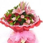 売れ筋の花束の一例