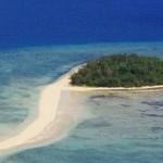 フィジーの小島