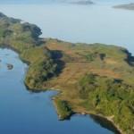 スコットランドの小島